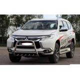 Кенгурятник Mitsubishi Pajero Sport 2016+