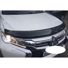 Дефлектор капота Mitsubishi Pajero Sport 2017+