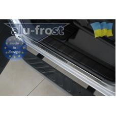 Накладки на пороги Alufrost для Nissan Navara
