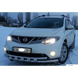 Защита переднего бампера Nissan Murano Z51 2008+
