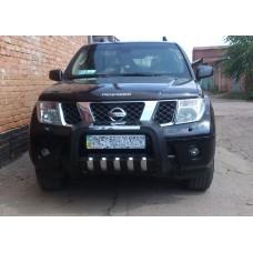 Защита бампера Nissan Pathfinder