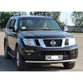 Защита переднего бампера Nissan Pathfinder