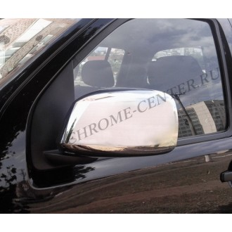 Хром на зеркала Nissan Pathfinder