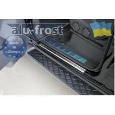 Накладки на пороги Alufrost Nissan Pathfinder