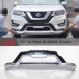 Тюнинг накладки на бампера Nissan X-Trail 2017-2018+