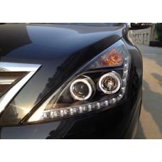 Передняя оптика Nissan Teana