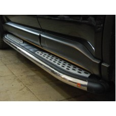 Боковые пороги Nissan X-Trail T31