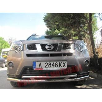 Защита бампера двойная Nissan X-Trail T31