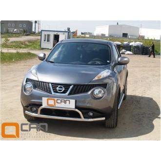 Защита бампера Nissan Juke