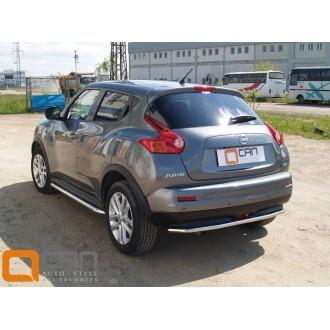 Защита заднего бампера Nissan Juke