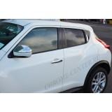 Хром на зеркала Nissan Juke