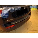 Накладка на бампер Alufrost  для Mitsubishi Outlander New