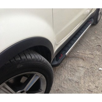 Пороги RedLine Mitsubishi Outlander 2012+