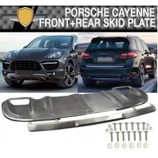 Накладки на бампера Porsche Cayenne 2010+
