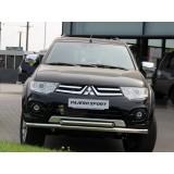 Защита переднего бампера Mitsubishi Pajero Sport NEW