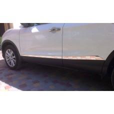 Молдинги Nissan Qashqai II 2014+