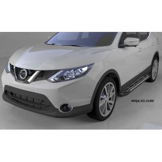 Подножки V2 для Nissan Qashqai 2014+