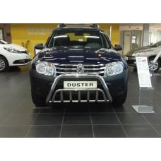 Защита бампера Renault Duster