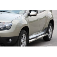 Пороги труба Dacia Duster