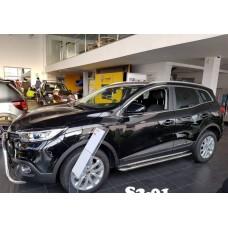 Подножки Renault Kadjar 2016+