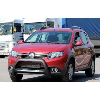 Защита бампера Renault Sandero