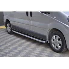 Алюминиевые пороги Opel Vivaro