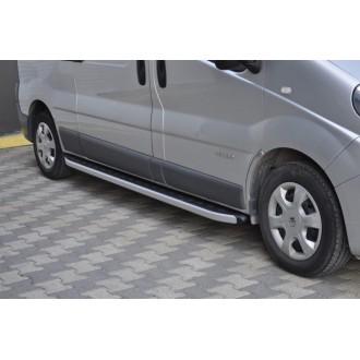 Алюминиевые пороги Renault Trafic