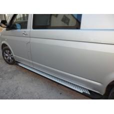 Пороги BMW стиль Renault Trafic