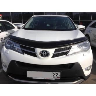 Дефлектор капота Toyota Rav 4 2013+