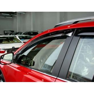 Дефлекторы окон ветровики SIM для Toyota Rav 4  2013+