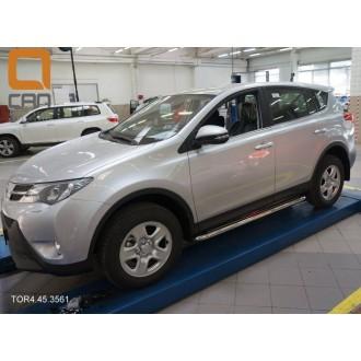 Пороги на Toyota Rav4 2013+