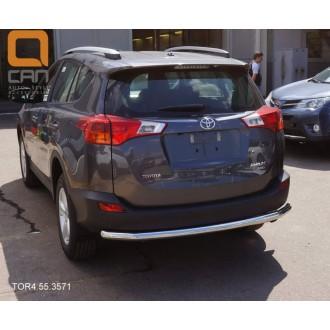 Защита заднего бампера для Toyota Rav 4 2013+