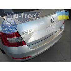 Накладка на задний бампер Alufrost Skoda Octavia A7