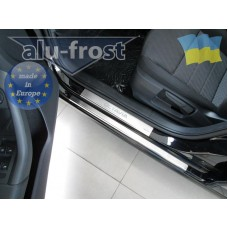 Накладки на пороги Alufrost Skoda Octavia A7