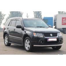 Пороги черного цвета Suzuki Grand Vitara