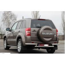 Защита заднего бампера для Suzuki Grand Vitara