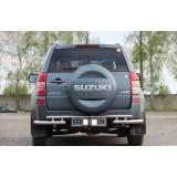 Защита заднего бампера Suzuki Grand Vitara