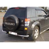 Защита заднего бампера углы Suzuki Grand Vitara