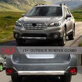 Накладки на бампера Subaru Outback 2015-2017+