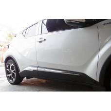 Хром молдинги на двери Toyota C-HR