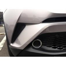Хром на туманки Тойота C-HR