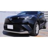 Хром накладки на передний бампер Toyota C-HR