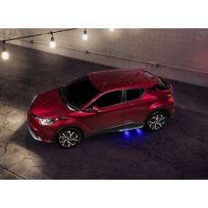 Toyota C-HR пороги с подсветкой