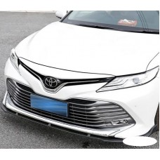 Накладка сплитер на передний бампер Toyota Camry 70 2018-2019+