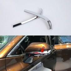 Хром накладки на зеркала Toyota Camry 2018+