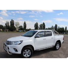 Пороги V2 Toyota Hilux 2016+