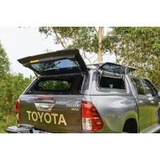 Кунг Toyota Hilux 2017+ окна вверх