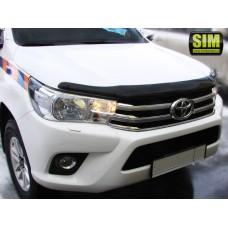 Дефлектор капота Toyota Hilux 2016+