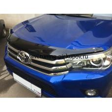 Дефлектор капота EGR Toyota Hilux 2016+