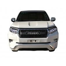 Тюнинг решетка радиатора Toyota Prado 2018+